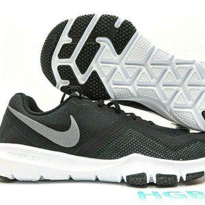 Nike Flex Control II 4E Wide Black Grey White WIDE